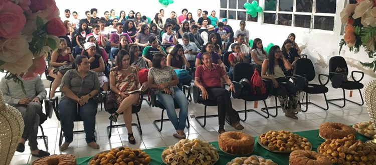 Curso de Bacharelado em Enfermagem Campus Rio Branco faz recepção aos calouros 2020 antes do início da pandemia em Rio Branco