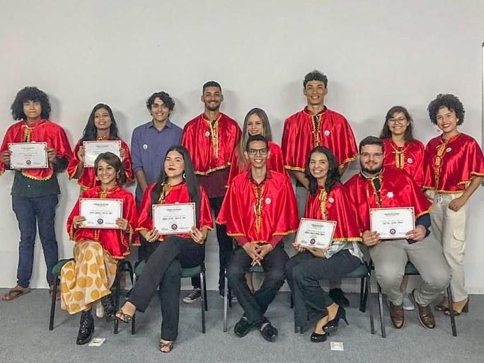 Estudantes de Direito na Acadêmica Acreana de Letras