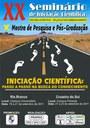 XX Seminário de Iniciação Científica