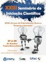 XXIII Seminário de Iniciação Científica