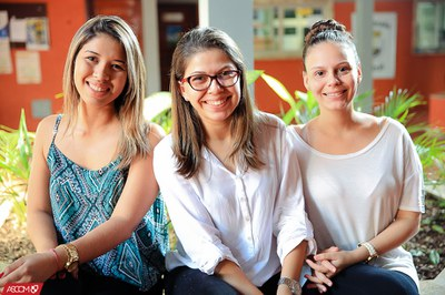 Lílian Muniz, Bruna Pereira, Maria Gabriela