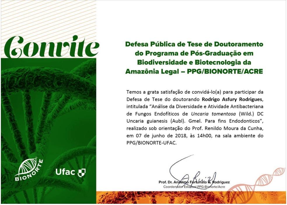 Bionorte - Rodrigo Asfury Rodrigues