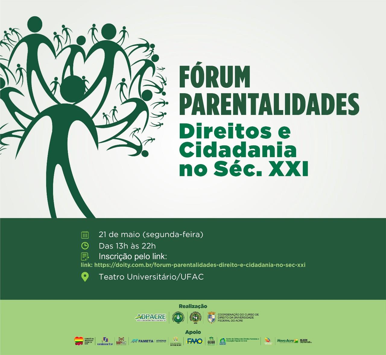 Fórum Parentalidades: Direitos e Cidadania no Século XXI
