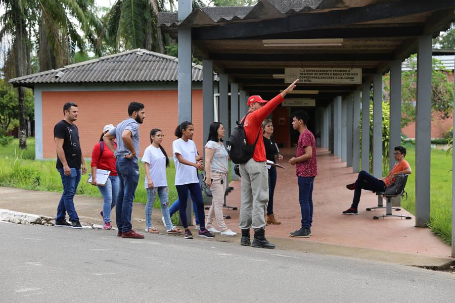 Projeto sobre dengue é realizado no campus-sede da Ufac