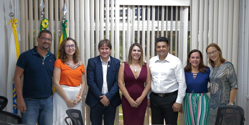 Deputado federal Manuel Marcos visita a Ufac