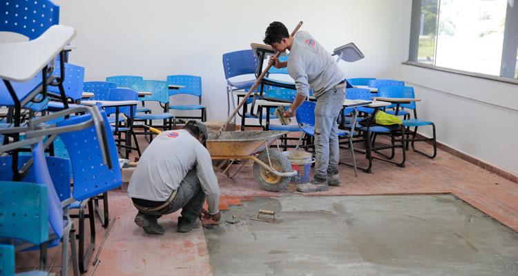 Ufac investe R$ 400 mil em manutenção do campus