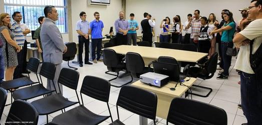 Ufac inaugura sala de organização local da 66ª Reunião da SBPC