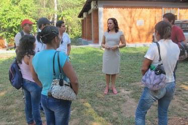 Comitiva do Peru visita PZ