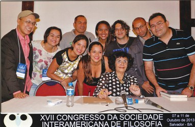 Marilena Chaui e a Delegação da UFAC