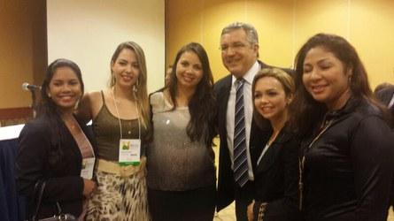 Ministro da Saúde, Alexandre Padilha e a Liga Acadêmica