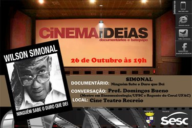 Cartaz - Cinema das Idéias 2013