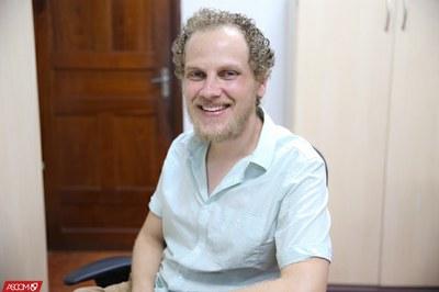 Organizador do evento, professor doutor Fernando Augusto Schmidt