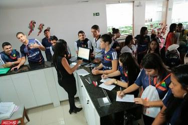 Equipes de futsal, basquete e handebol da Ufac chegam a Aracaju para participar dos Jogos Universitários Brasileiros