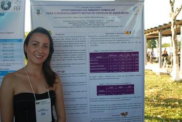 Jéssica Selle, acadêmica de educação física da Universidade Federal do Rio Grande do Sul
