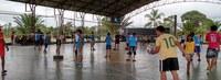 Acadêmicos de Educação Física realizam 7ª edição de torneio de vôlei para crianças