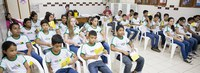 Ação antizika é levada à escola Diogo Feijó
