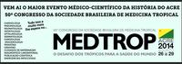 Acre sedia 50º Congresso de Medicina Tropical