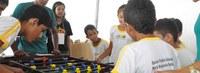 Alunos de educação física da Ufac realizam estágios na SBPC Mirim