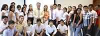 Alunos peruanos visitam a Ufac