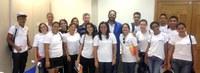 Arquivo Central da Ufac recebe visita de alunos do Senac
