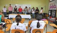 Campanha de enfrentamento à violência contra a mulher é lançada no Bujari