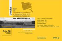 Campus Floresta realiza 1º Fórum de Estágio Curricular Supervisionado