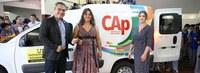 CAP recebe veículo institucional