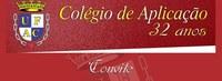 Colégio de Aplicação 32 Anos - Convite
