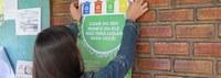 Comissão divulga Coleta Seletiva Solidária nas salas de aula