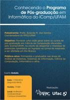 Conhecendo o Programa de Pós-graduação em Informática do IComp/UFAM