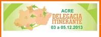 Conselho Regional de Nutricionistas realiza projeto delegacia itinerante no estado do Acre