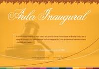 Convite - Aula Inaugural