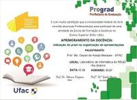 Convite Esfor: Aprimoramento da Docência - Utilização do Prezi na Organização de Apresentações