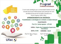Convite para Atividades Esfor - Rio Branco e Cruzeiro do Sul