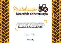 Convite: Revitalização do Laboratório de Mecanização