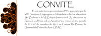 Convite: VIII Simpósio Linguagens e Identidades da/na Amazônia Sul-Ocidental