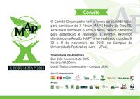 Convite - X Fórum da Iniciativa MAP