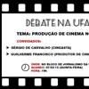Curso de Comunicação Social/Jornalismo promove debate sobre cinema