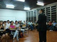 Curso de Direito oferece palestra para alunos
