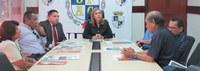 Delegação de reitores peruanos visita a Ufac