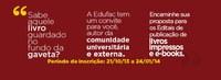 Editora da Ufac divulga edital para publicação de obras em formato digital e impresso