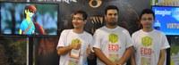 Estudantes do Acre apresentam jogo na Expo T&C da SBPC