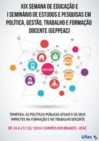 Eventos discutem políticas públicas para formação de professores