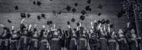 Fotos da formatura dos cursos de Filosofia, Geografia Licenciatura e Bacharelado
