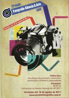 I Prêmio CNPQ de fotografia – Ciência e Arte