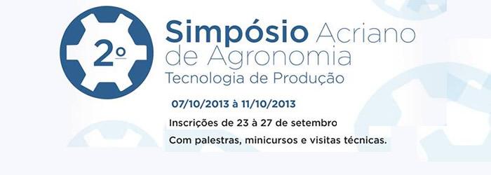 II Simpósio Acriano de Agronomia