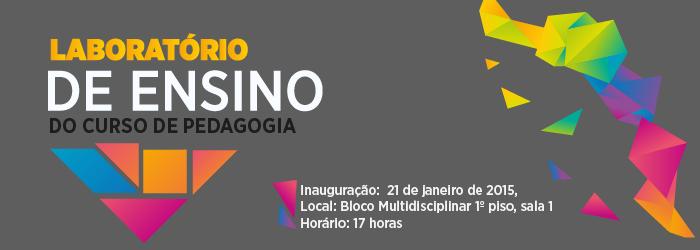 Inauguração: Laboratório de Ensino do Curso de Pedagogia