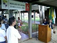 Inaugurada a nova sede do Núcleo de Apoio a Inclusão na Ufac