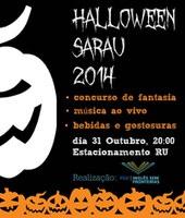 Inglês sem Fronteiras organiza sarau Halloween