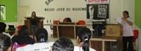 Manuel Urbano recebe oficina de combate à violência contra mulher
